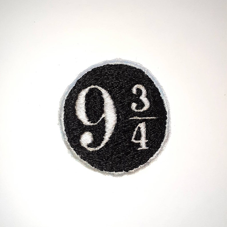 Platform 9 34 Hand Embroidered Patch 100/% of proceeds to Trans rights