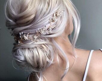 Beautiful Bridal Hair Vine/ Wedding Hair Accessories for Brides / Hair Accessory For Brides / Bridesmaid Hair Piece / Perfect Gift Idea