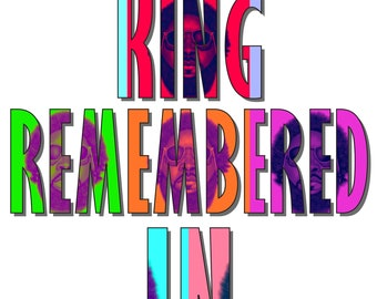 """Big KRIT - """"King Remembered in Time"""" print"""