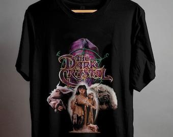 Dark Crystal 80s Movie The Good Guys Adult T-Shirt Tee Black