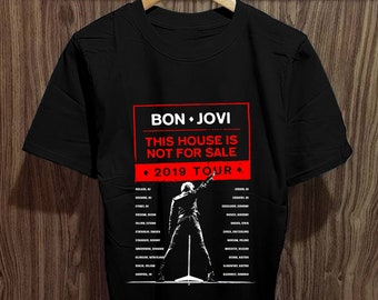 61a1af035 Bon Jovi Tour T Shirt, Bon Jovi Shirt Best Seller Size Unisex Adult