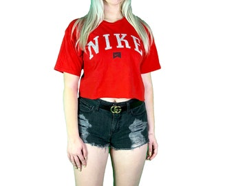 cd449210132ae Nike crop top cropped t shirt medium small extra small