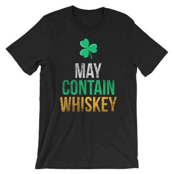 Funny St Patrick/'s Day T-shirt mens green tee bar crawl drunk beer whiskey