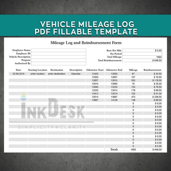 Mileage Form Template from i.etsystatic.com
