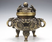 Dragon Incense From China - Bronze Incense Burner Asia Lifestyle