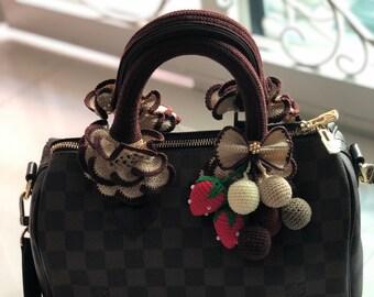 3305f4747520 Louis Vuitton Speedy Handle Covers ~ Crochet Purse Accessories ~ Speedy 25