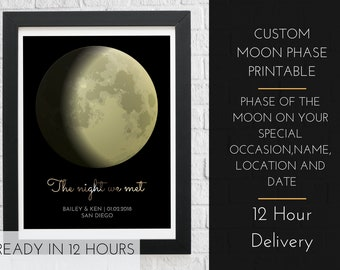 4738aaaa79d1 Personalized moon phase  valentines day gift for him  for husband mens girl for  boyfriend cute sexy  funny  for her  digital download custom
