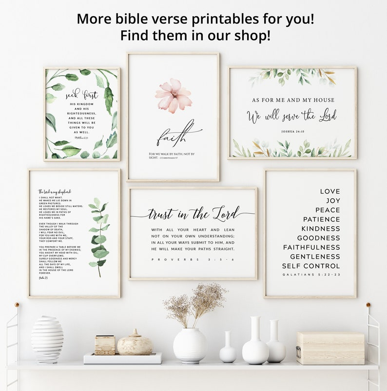 Greenery Bible Verse Digital Print Large Scripture Download 1 Thessalonians 5:16-18 Rejoice Always Bible Verse Printable Wall Art