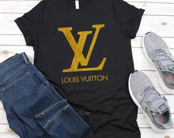 bc7178a38 Crewneck Louis Vuitton Sweatshirt, Luxury Gold Lv Shirt, Louis Vuitton tank  top women Unisex,Louis Vuitton Womens t-shirt kids Louis Vuitton
