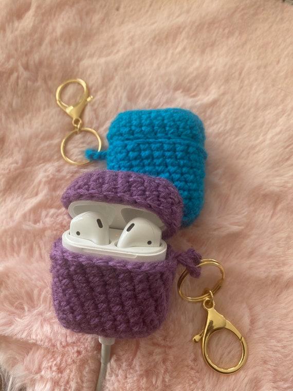 Crochet AirPod Case // Keychain