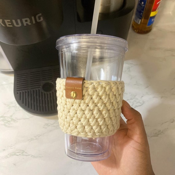 Tumbler Cozy // Cup Sleeve // Hot & Cold Drink Cozy // Cup Cover