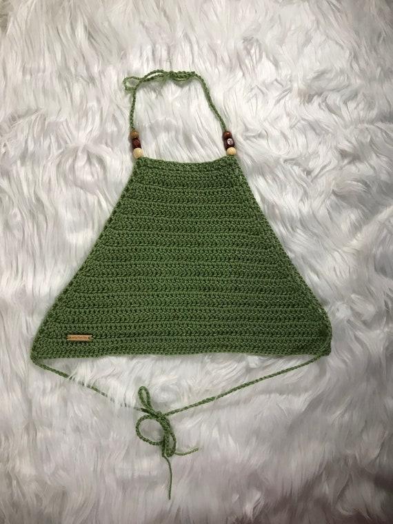 Crochet Halter Top x LEENA