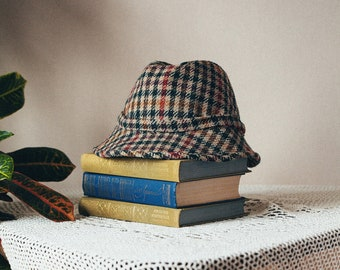 dc0cee123ce Vintage Wool Bucket Hat check