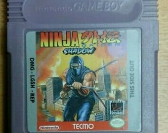 Ninja Gaiden Gameboy Etsy
