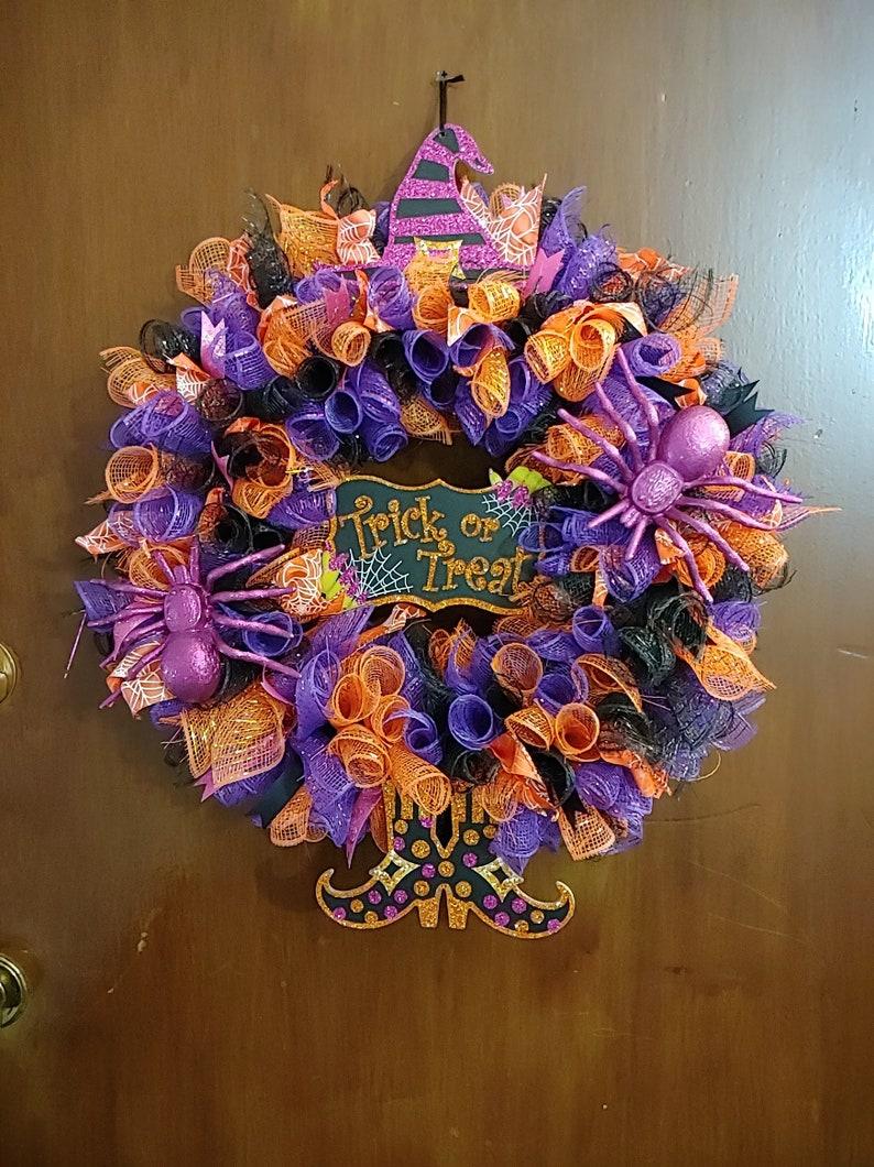 Halloween Wreath Door Hangers Wreaths Seasonal