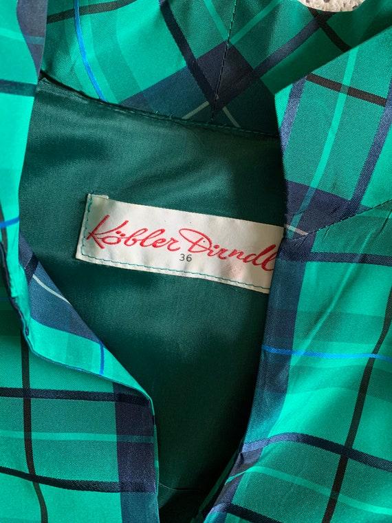 Vintage Puff Sleeve Tartan Dress | Vintage Austri… - image 4
