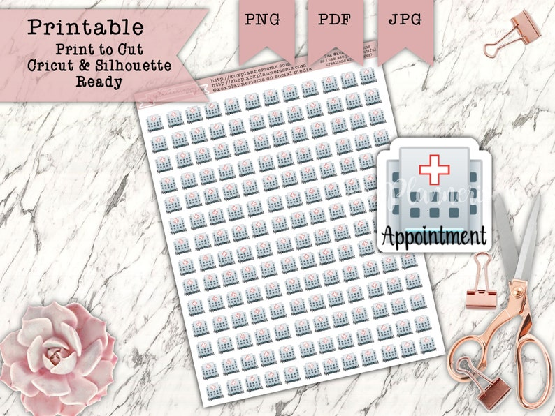168 Appointment Planner Stickers  Doctors Appointment image 0