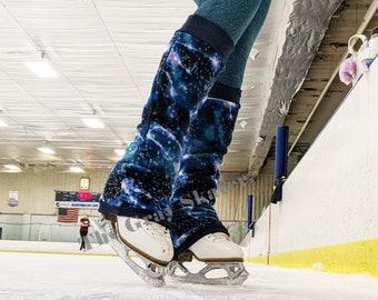 Blue leg warmers kids