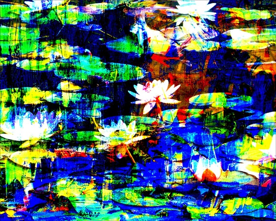 S E E R O S E N Limited Edition 1-100 Abstract Modern Art of acrylic Painting Contemporary Art