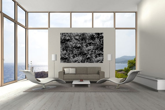 Composition P 13 Abstract Art of Acrylic Painting Limited Edition 1-100