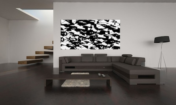 Black is beautiful limited edition 1-100 abstract art of acrylic painting Contemporary Art