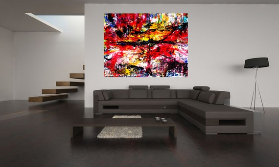 Timeless 1 large-format abstract acrylic painting Contemporary Art Limited Edition 1-100