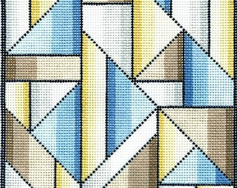 6232 Geometric Design needlepoint canvas
