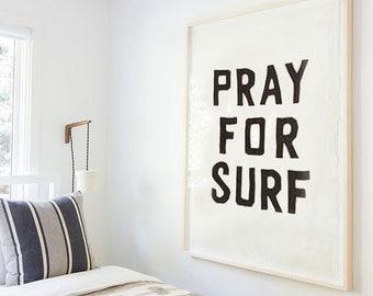 Pray for Surf Tapestry