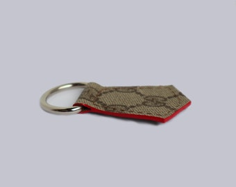 042fcb2311c Custom Handmade Upcycled Gucci Keychain Keyring