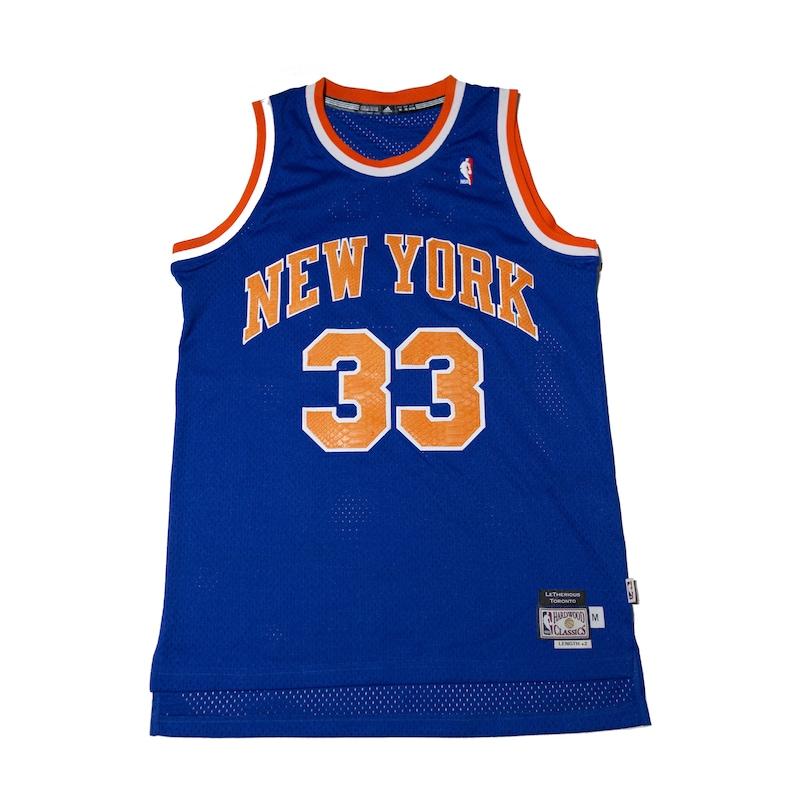 size 40 9115c b5ba8 Custom New York Knicks Patrick Ewing Python Jersey #33 Adidas Size Medium