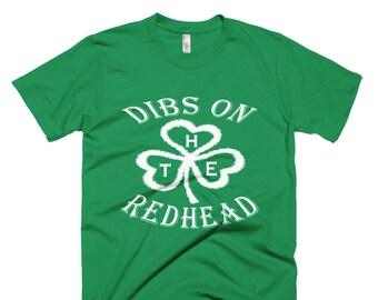 fea3436d Dibs On The Redhead Shirt Funny St Patricks Day Drinking   St Patricks Day  Shirt - Irish Shirt - Shamrock Shirt - Lucky Shirt - St Pattys Da