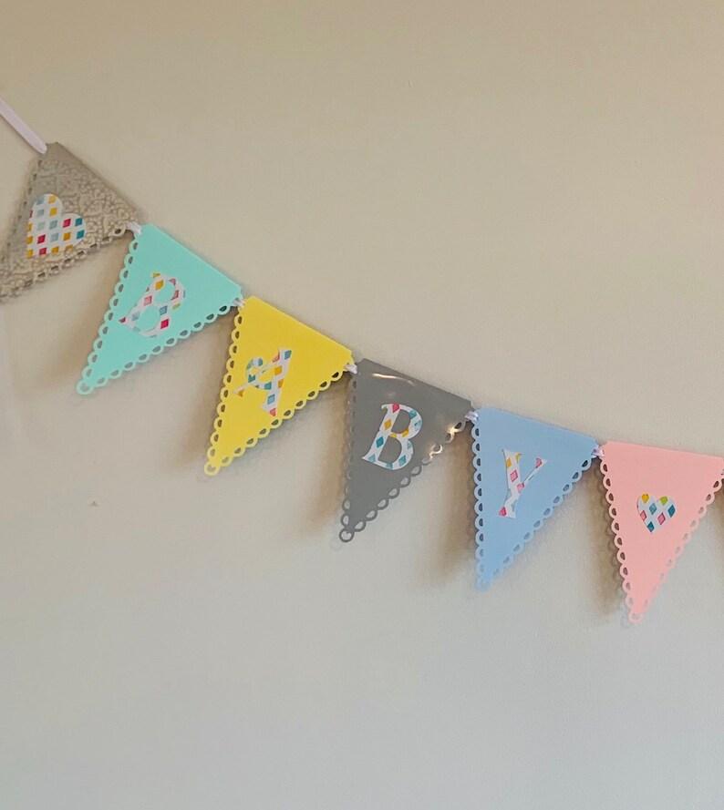 Stunning baby shower banner!