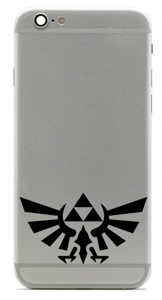 The Legend of Zelda Breath of the Wild Link Phone Laptop Metal Sticker Decal