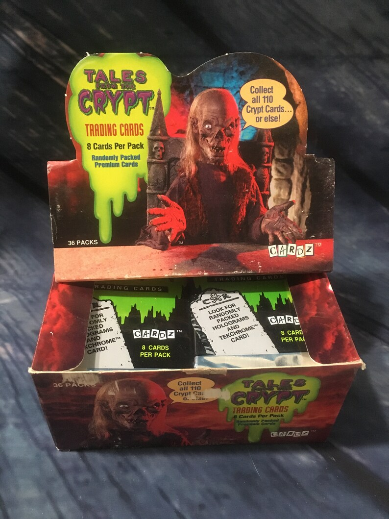 Cardz 1993 Tales From The Crypt You Pick Pick 3 Cards