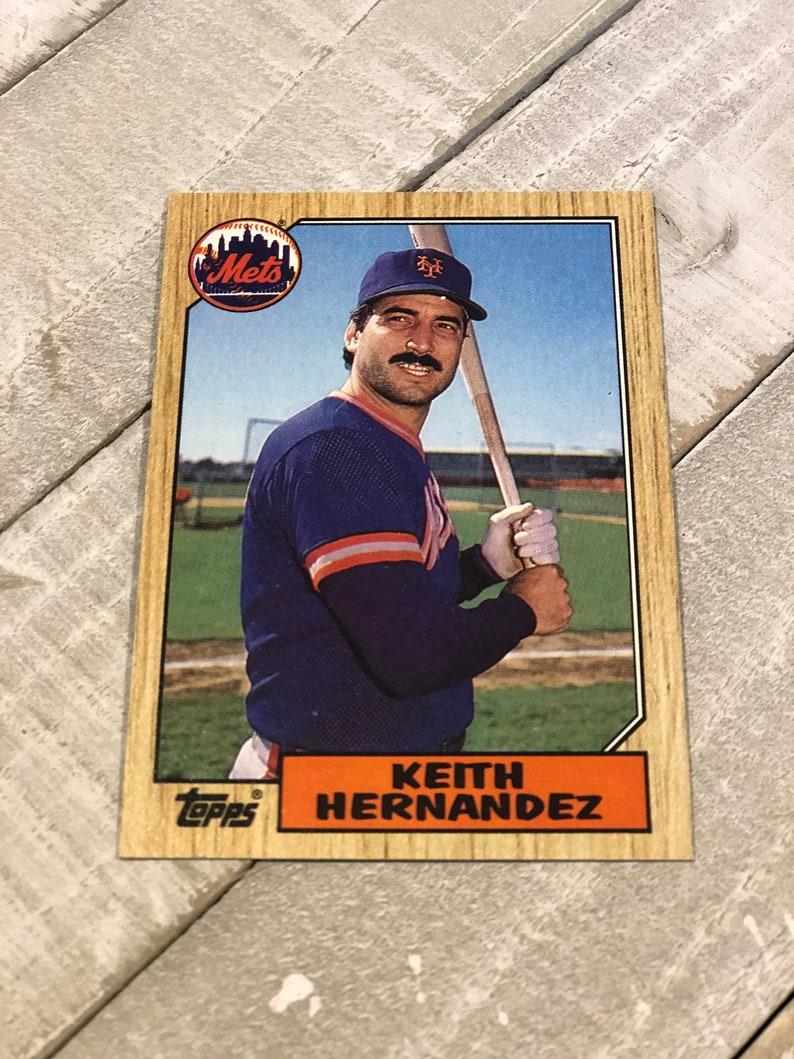 1987 Keith Hernandez Baseball Card