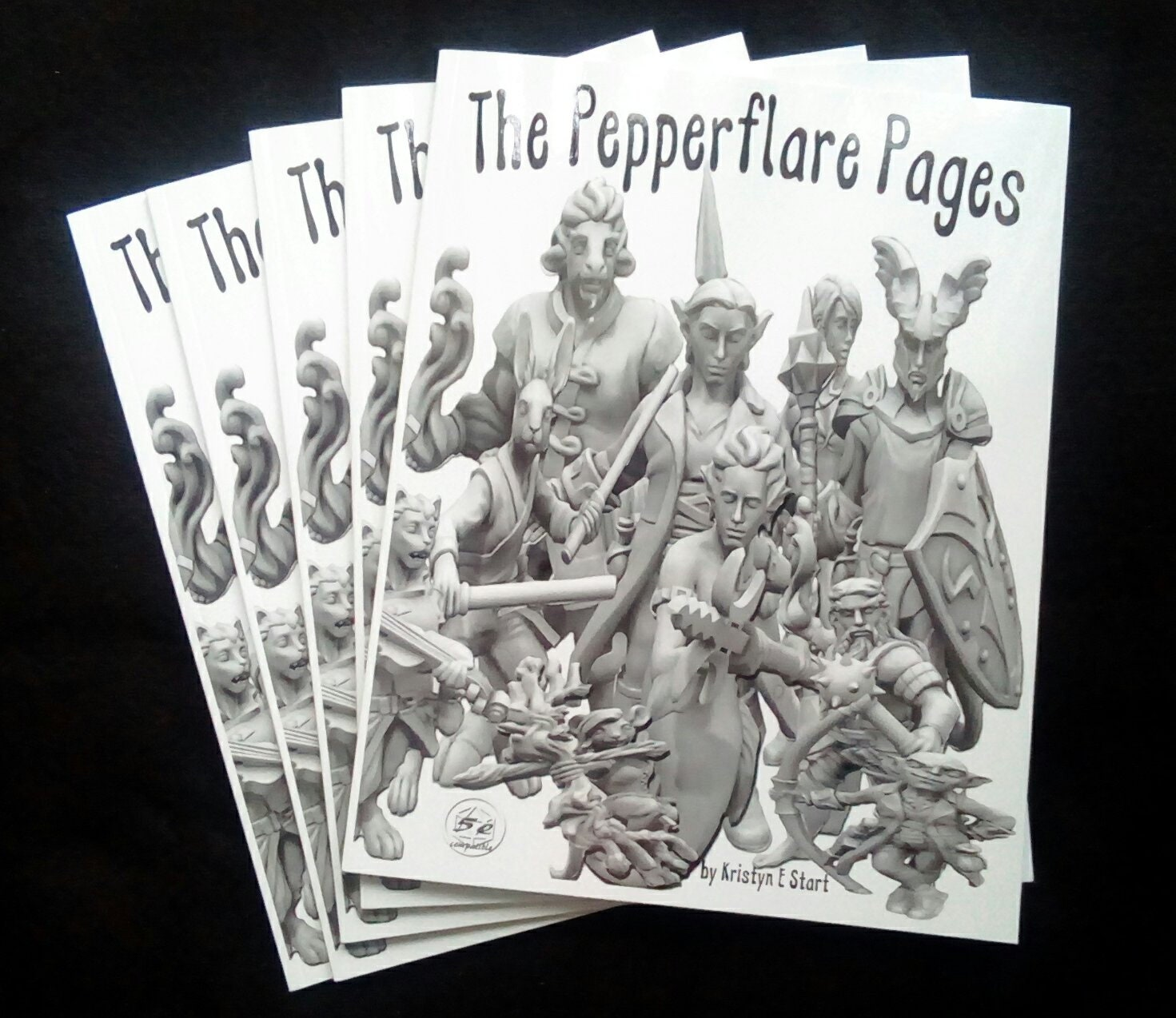 Pepperflare Pages© DnD5e RPG Stat Sheets