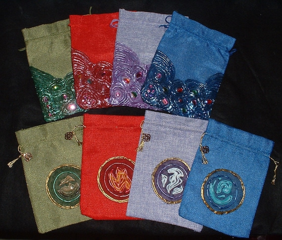 5 sets Mixed color marbled RPG dice with 5 velvet dice bags for Dungeons and Dragons DnD and other