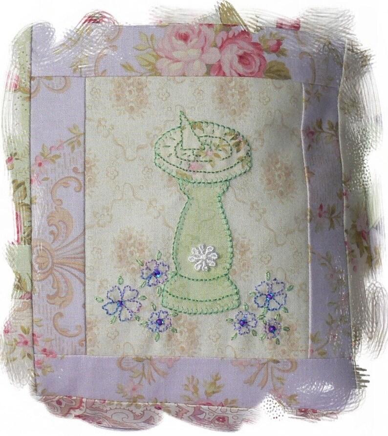 Lavender Green Cushion