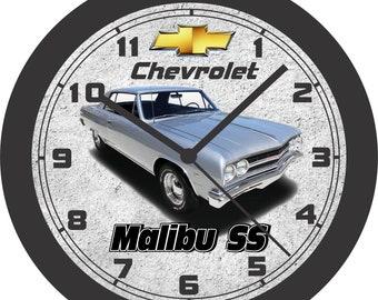 1971 CHEVROLET NOVA SS WALL CLOCK-FREE USA SHIP