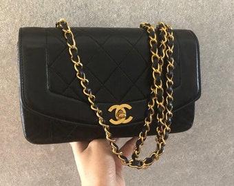 db2d52db55c4 Vintage chanel bag | Etsy