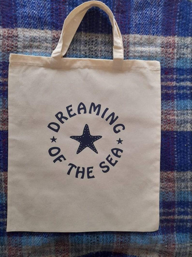 Dreaming of the Sea. Tote bag