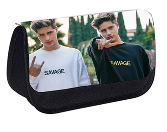 Martinez Twins Team 10 Youtube Pencil Case dd387178884e