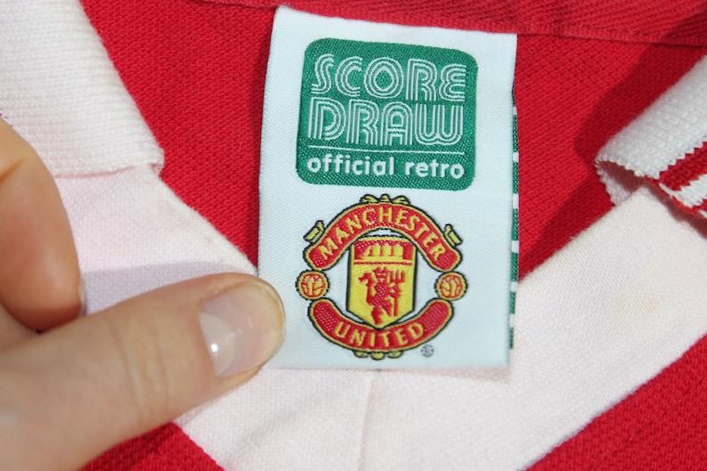 Manchester United shirt 1977 Silver Jubilee shirt Men/'s size M