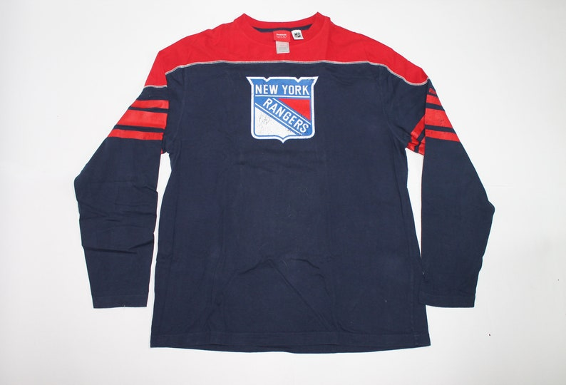 New York Rangers long sleeve shirt Men/'s size L