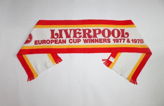 Liverpool scarf European Cup Winners'  1977–78