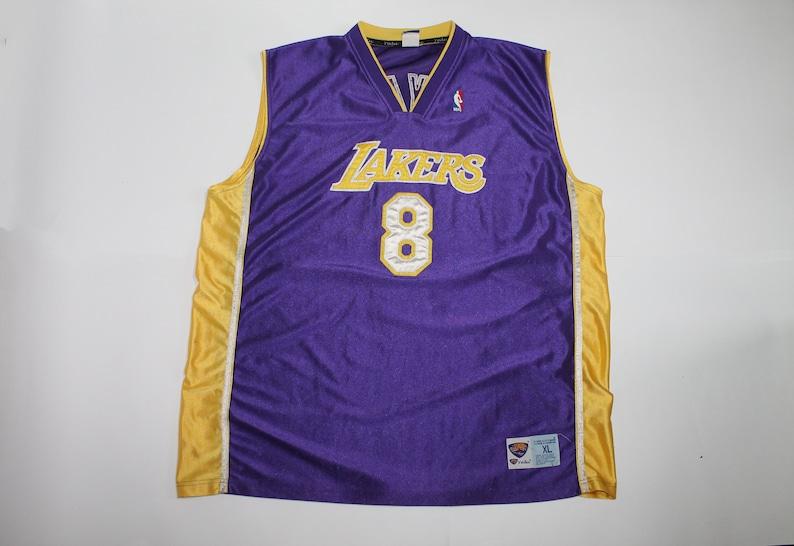 95a82c8c077 Vintage men's Kobe Bryant Authentic Purple Jersey: NBA Los | Etsy