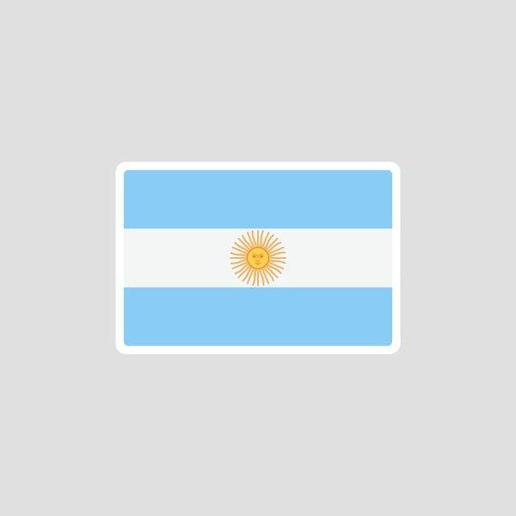 NEW Argentina Flag Emblem Sticker Decal Argentine #13B