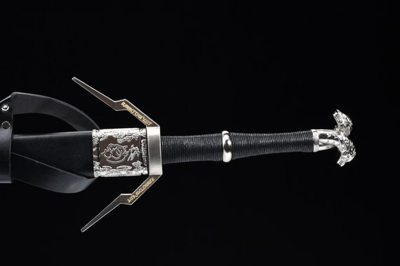 Witcher 3 Wild Hunt Geralt of Rivia Limited edition BATTLE READY Steel Sword