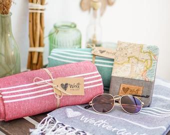 Stylish beach towel |Picnic Blanket |Hamam cloth | Towel