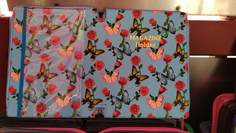 Complete Magazine Zippered Folder